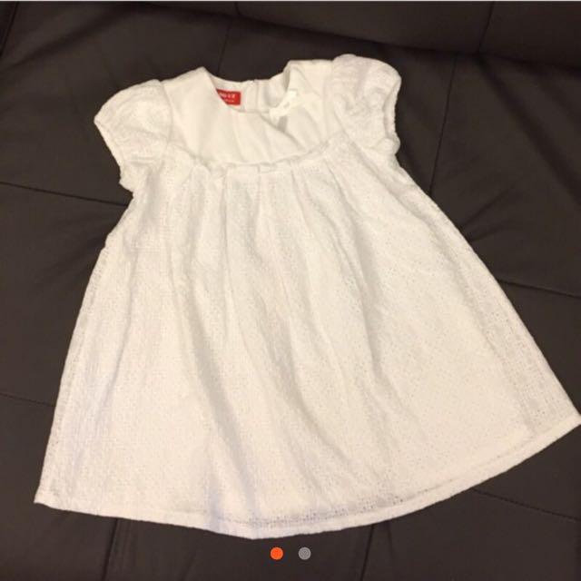 Why&1/2白洋裝