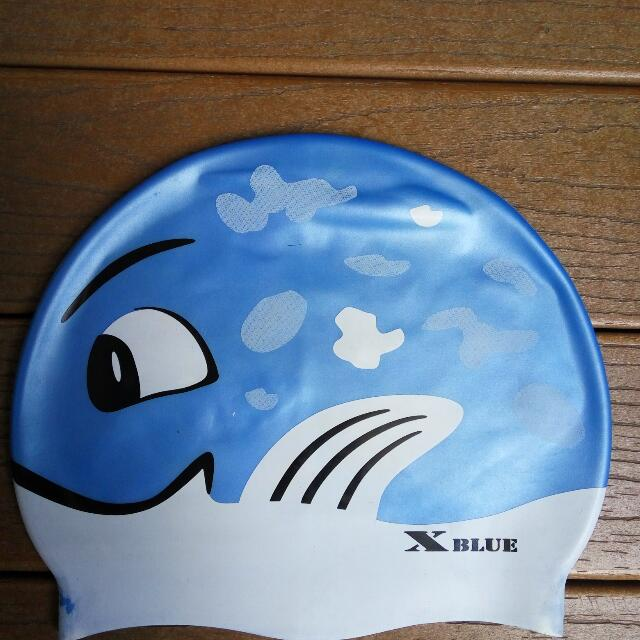 X-Blue Swimming Cap