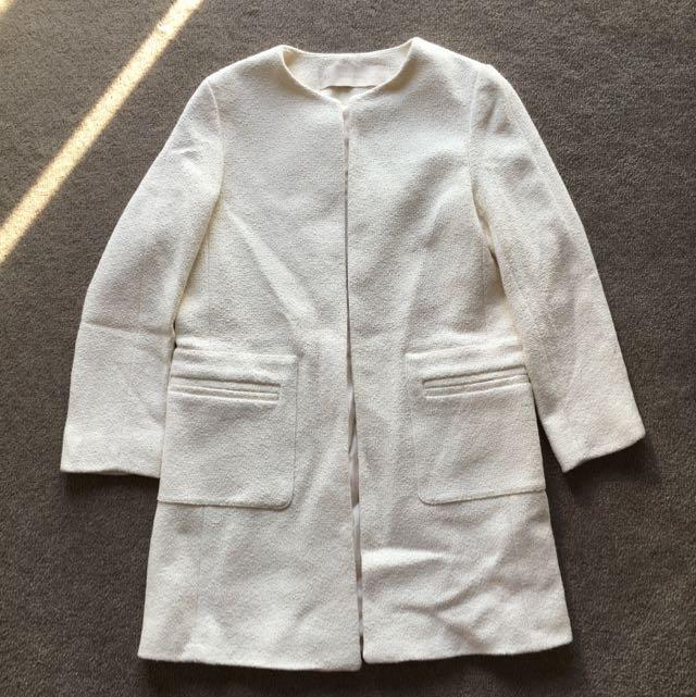 Zara Cocoon coat