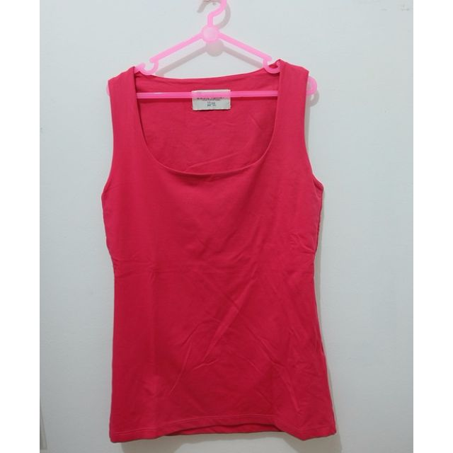 ZARA Fuschia Basic Top