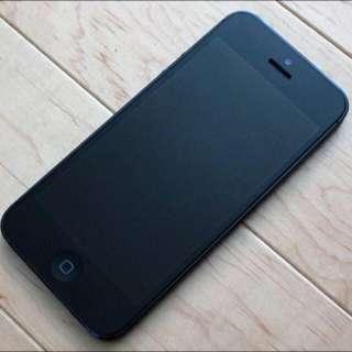 New iPhone 5 (Black)