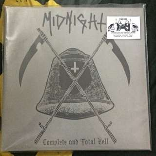 "Midnight ""Complete and Total Hell"" RED vinyl limited 100 copies!"