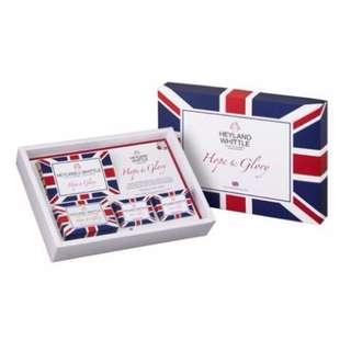 H&W 英倫薇朵 英倫禮讚手工皂禮盒 希望與榮耀 Hope & Glory Heyland Whittle 百貨專櫃購入