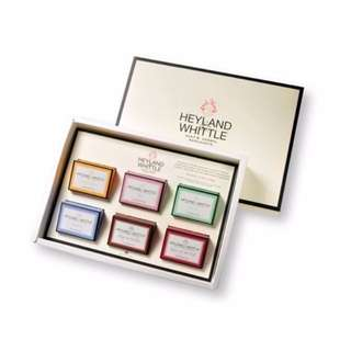 H&W 英倫薇朵 英倫薇朵經典手工皂禮盒 Heyland Whittle 百貨專櫃購入