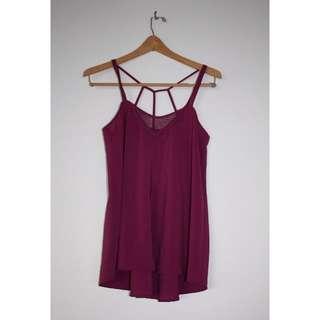 🌻 Purple shirt