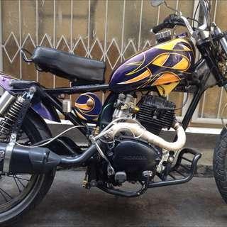 Cb100 Cust Harley