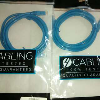 New 2m Cat6 Network Cable Rj45