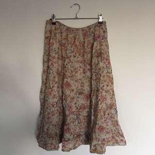 Valley girl Boho Skirt