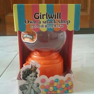 New Candy Machine Girlwill Toy