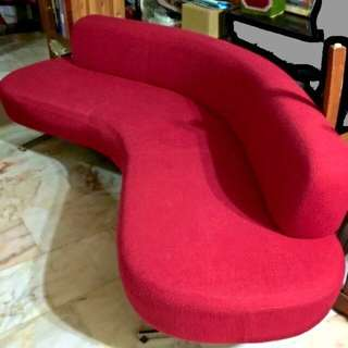 Urban Red Sofa *reserved
