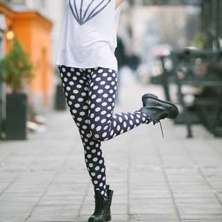 H&M Polka Dot Leggings