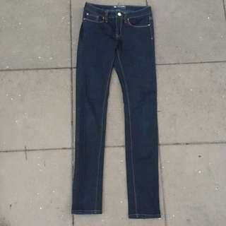 Super Skinny Dark Blue Jeans