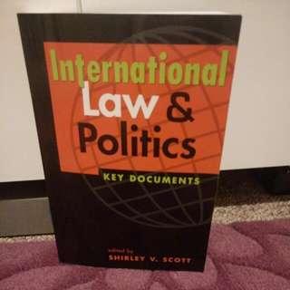 International Law & Politics: Key Documents