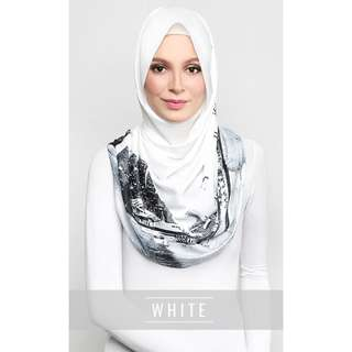 ❗️PENDING TO ZIEBONCH - dUCk The Singapore Scarf in White