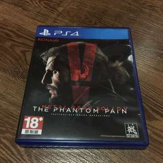 PS4 - METAL GEAR SOLID 5 : THE PHANTOM PAIN (used game)