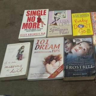 Random Selection Of Novels / Ex Library Books (Not Stolen!!) :)