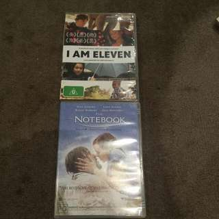 The Notebook Dvd / I AM 11