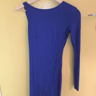 ASOS One Sleeve Mini Dress