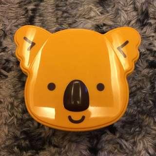 可愛無尾熊置物盒
