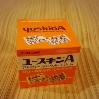 日本YuskinA悠斯晶A乳霜/ 護手霜 120g