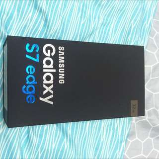 Brand New Samsung S7 Edge 4G (gold)