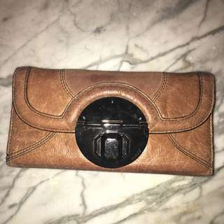 Mimco Large Turnlock Wallet