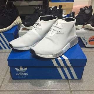 Adidas NMD C1 CHUKKA white UK9.5=US10 全新正品現貨