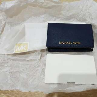 Genuine Michael Kors Jet Set Saffiano Leather  Travel Card Case