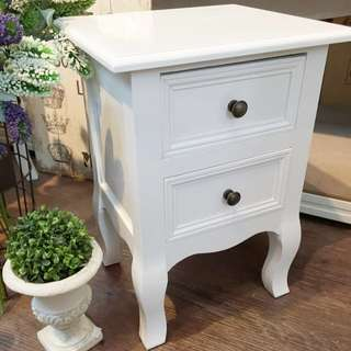 Country Style Small Size Side Bed Cupboard