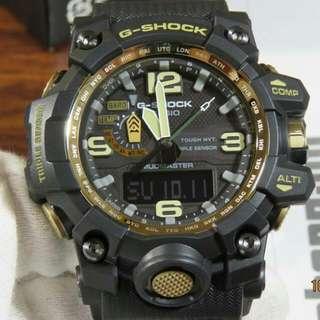 G-Shock Mudmaster Black & Gold