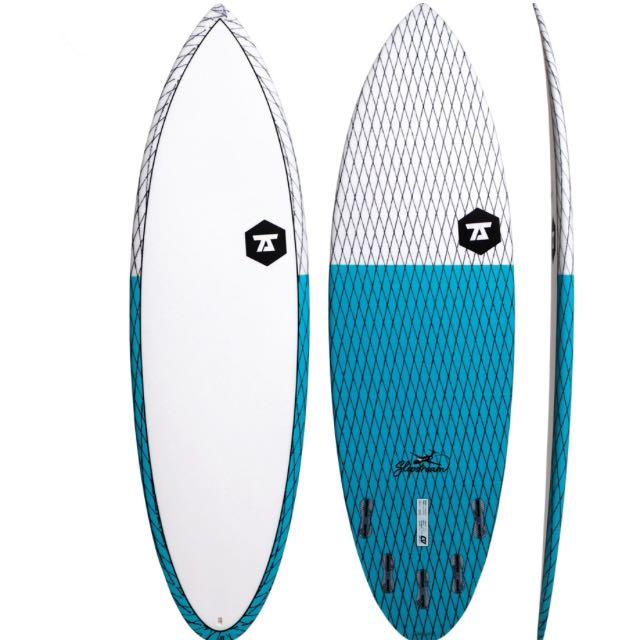 7S Slipstream Surfboard CV Model