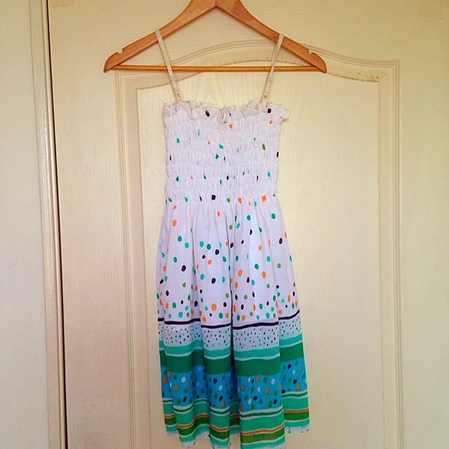 《夏:特賣》綠油油清新渡假洋裝