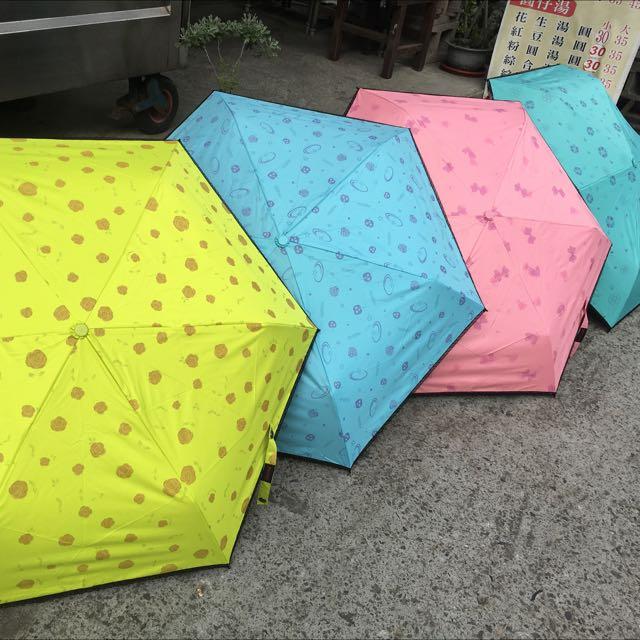 蕾絲造型變色傘 手開傘 折疊傘