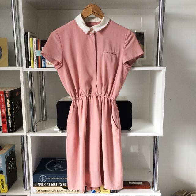 Adorable Pink Dress - Size 8-10