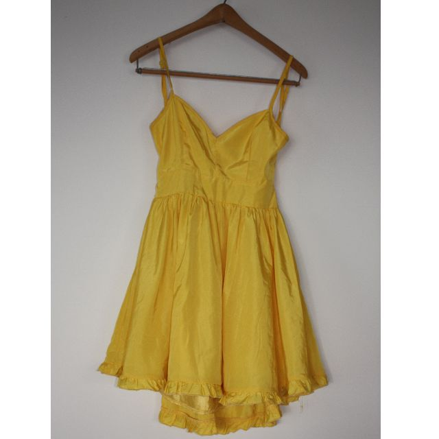 Ask Grace yellow dress