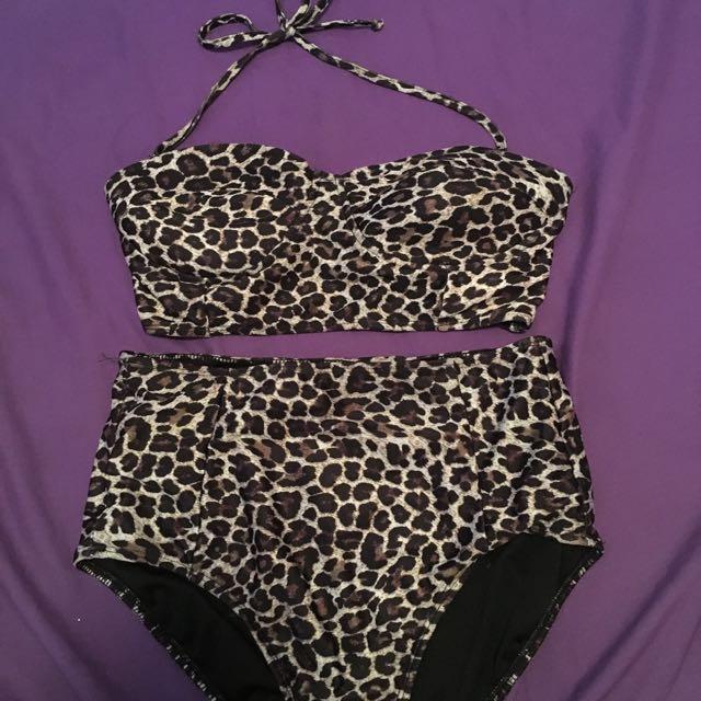 ASOS High Waisted Bikini Set