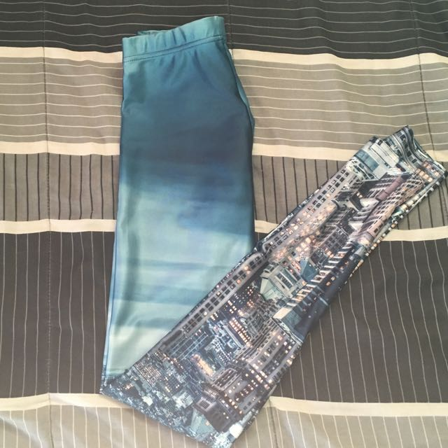 Blackmilk NYSkyeline leggings