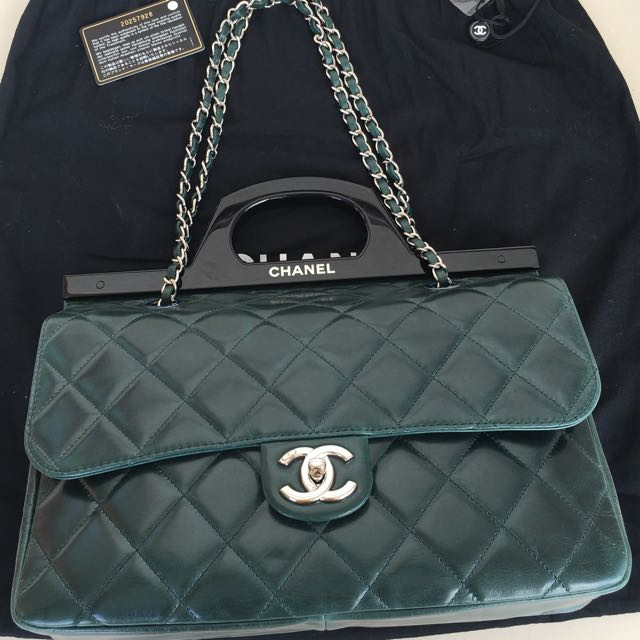 d7f4d08a2acf Chanel CC Delivery Tote Bag, Luxury on Carousell