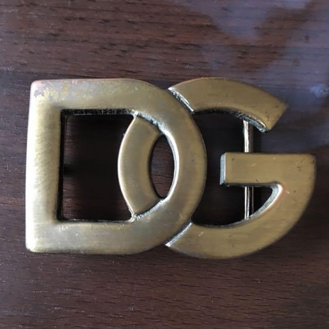 Dolce &gabbana D&G 皮帶頭 二手 真品 便宜賣