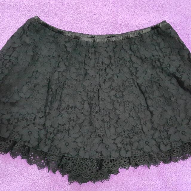 ef-de蕾絲褲裙