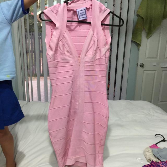 Herve Lever Bandage Dress