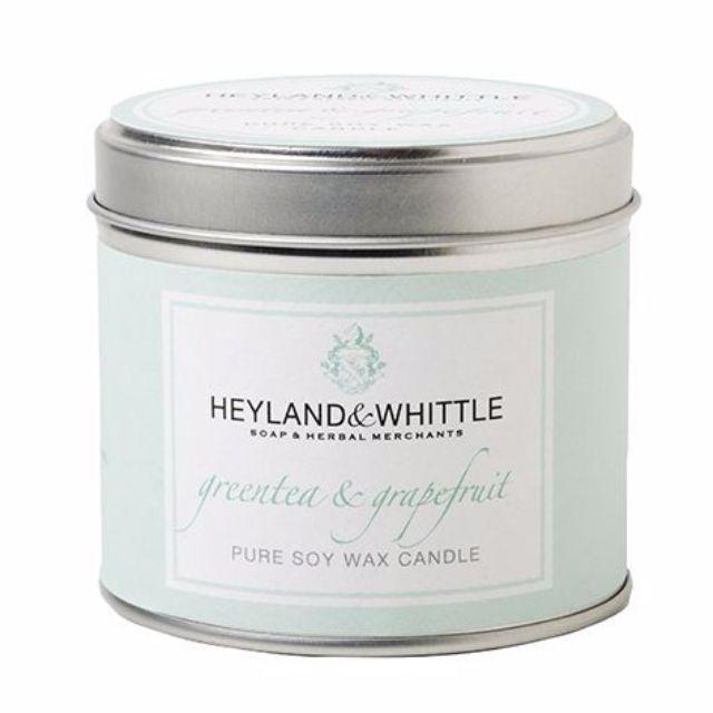 H&W 英倫薇朵 葡萄柚綠茶香氛燭罐 130g Heyland Whittle 百貨專櫃購入