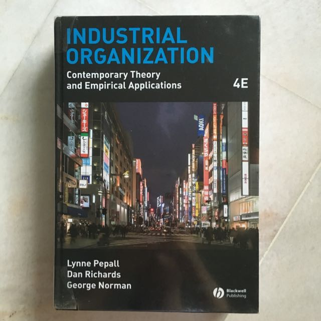 industrial organization contemporary theory and empirical applications