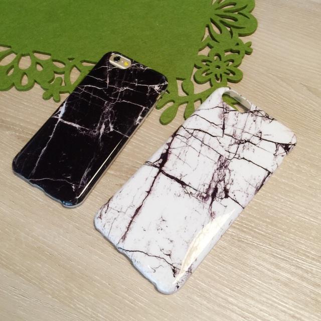 iphone 6s plus 超帥 仿真 大理石 紋路 原創 手機殼 保護套 全包邊 軟殼 手機套
