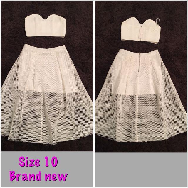 Skirt & Top Set
