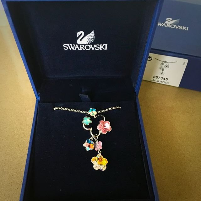 Swarovski Sweet Blossom Crystal Pendant