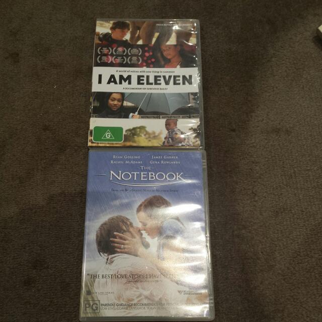 The Notebook Dvd / I AM 11