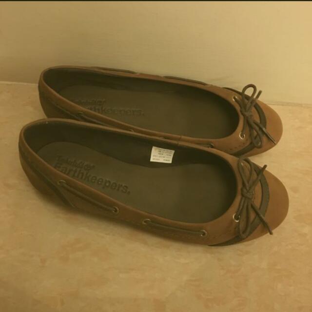 Timberlands 真皮休閒鞋