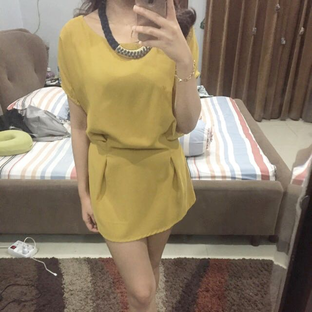 Zara Yellow SemiDress