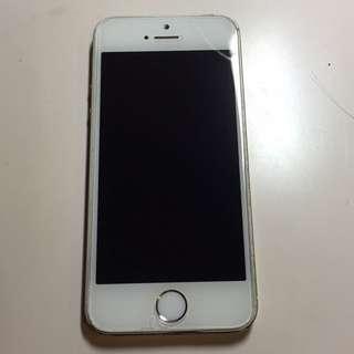 iphone5s 金色 16g 一手女用機 女友換機故售
